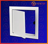 Двери ревизионные металлические на магните, 150х500 мм