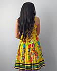 Жіноче плаття baby doll. 100% бавовна. Виробництво Індія. Розмір М, фото 3