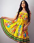 Жіноче плаття baby doll. 100% бавовна. Виробництво Індія. Розмір М, фото 4