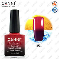 Термо гель-лак Canni  № 351