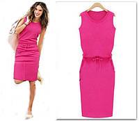 Платье-туника женское летнее modastar 1513 Украина, розовый