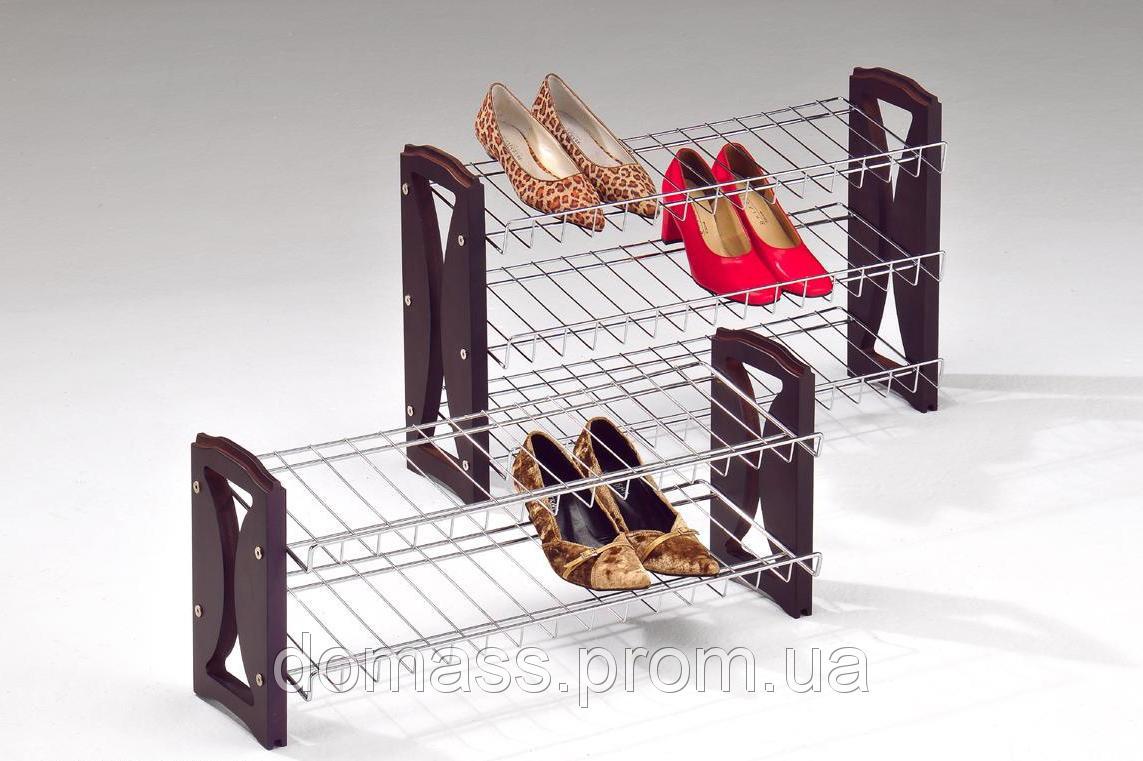 Подставка для обуви 2- Х уровневая