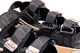 Женские черные спортивные босоножки фила, фото 6