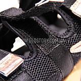 Женские черные спортивные босоножки фила, фото 5