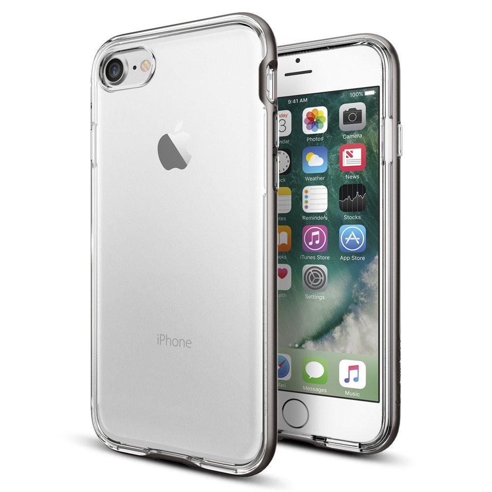 Чехол Spigen Neo Hybrid Crystal iPhone 7 satin silver (043CS20684) EAN/UPC: 8809466647963