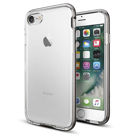 Чехол Spigen Neo Hybrid Crystal iPhone 7 satin silver (043CS20684) EAN/UPC: 8809466647963, фото 2