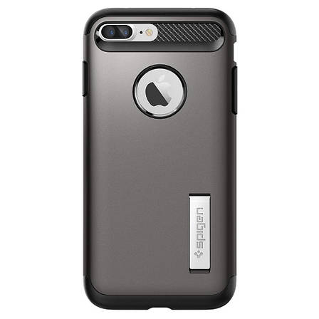 Чехол Spigen Slim Armor iPhone 7 Plus ganmetal (043CS20309) EAN/UPC: 8809466644580, фото 2