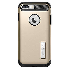 Чохол Spigen Slim Armor iPhone 8 Plus / 7 Plus champagne gold (043CS20310) EAN / UPC: 8809466644597