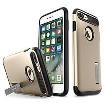 Чехол Spigen Slim Armor iPhone 7 Plus champagne gold (043CS20310) EAN/UPC: 8809466644597, фото 2