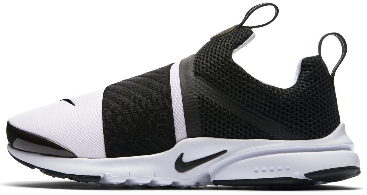 Мужские кроссовки Nike Presto Extreme (Найк Престо) черно-белые