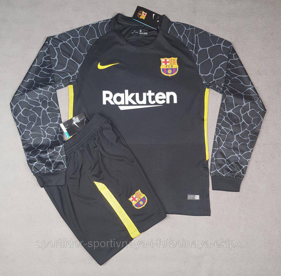 20ce9ddfe8c0 Футбольная форма вратаря Nike FC Barcelona 2017-18 - Спортлидер› спортивная  и футбольная экипировка