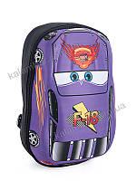 """Детский рюкзак """"Тачки"""" фиолетовый"""