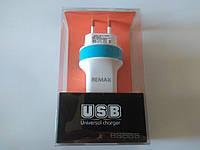 Сетевой USB адаптер Remax 2.1A (Выдает 2А)