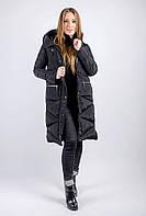 Куртка женская, черная, зимний сезон  677K002 (Черный)
