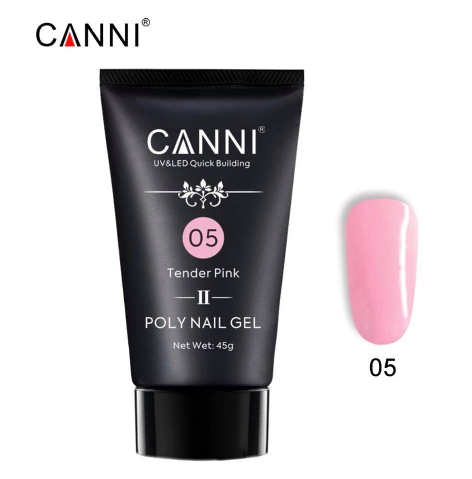 Полигель CANNI №05 Tender Pink