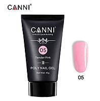 Полигель CANNI №04 Crystal Pink