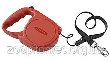 Ferplast FLIPPY Regular Small RED Автоматичний поводок-рулетка для собак зі шнуром