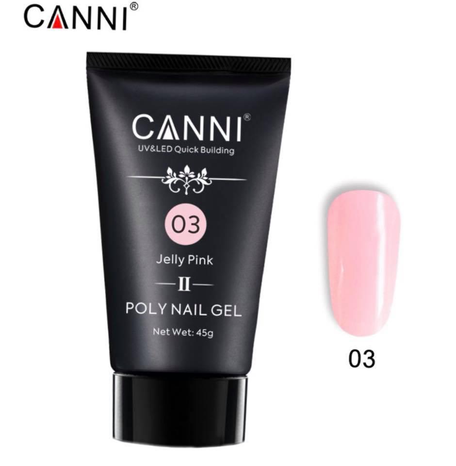 Полигель CANNI №03 Jelly Pink