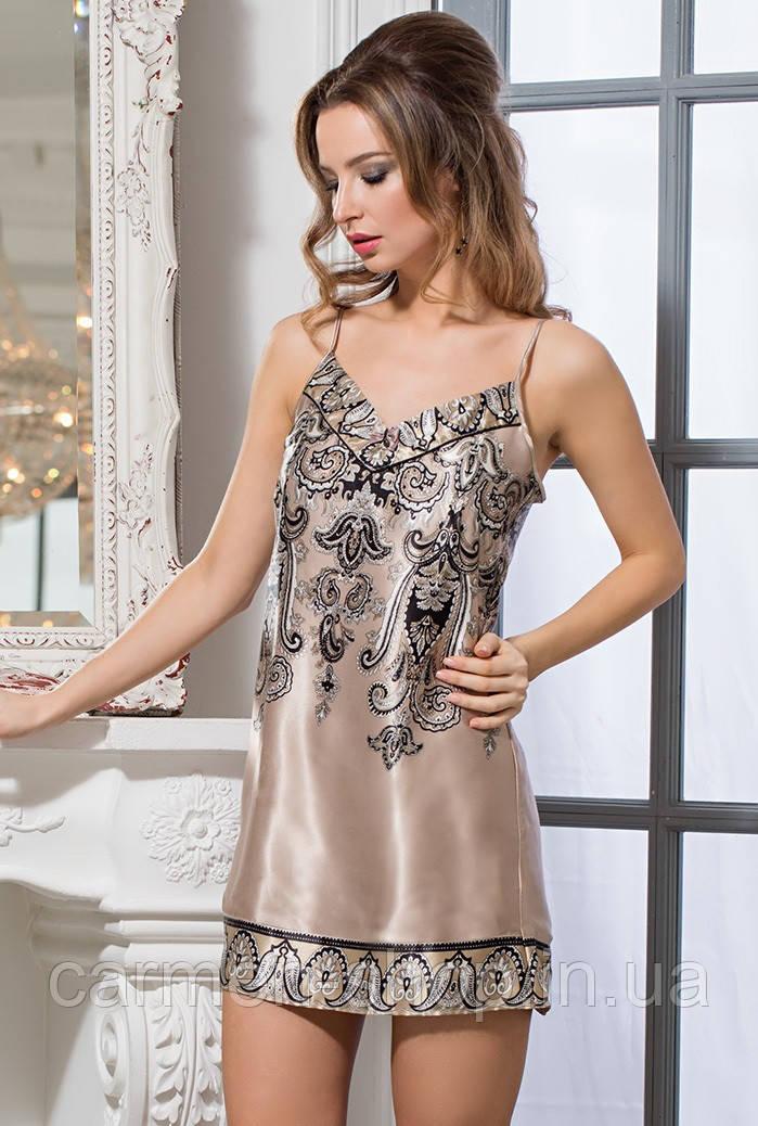 Классическая короткая сорочка Mia-Amore JUSTIN 3141 Миа-миа