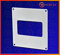 Пластина настенная для плоских каналов 55х110 мм