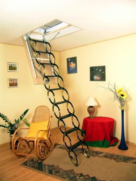 Чердачная лестница Oman NOZYCOWE NО