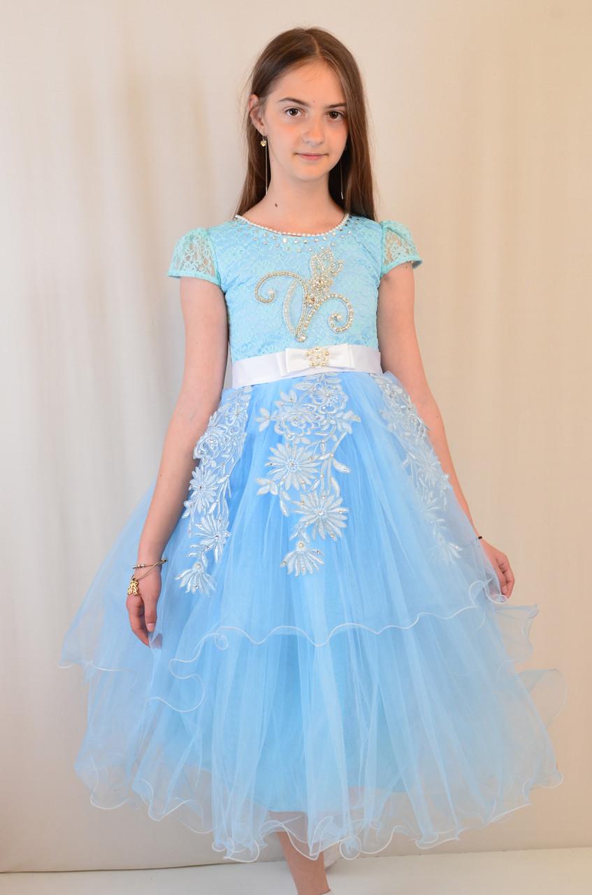 Изумительное шикарное детское вечернее платье на бал 116-128