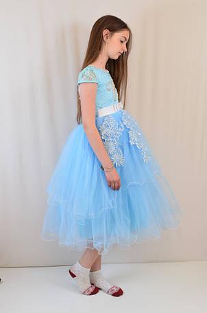 Изумительное шикарное детское вечернее платье на бал 116-128, фото 2