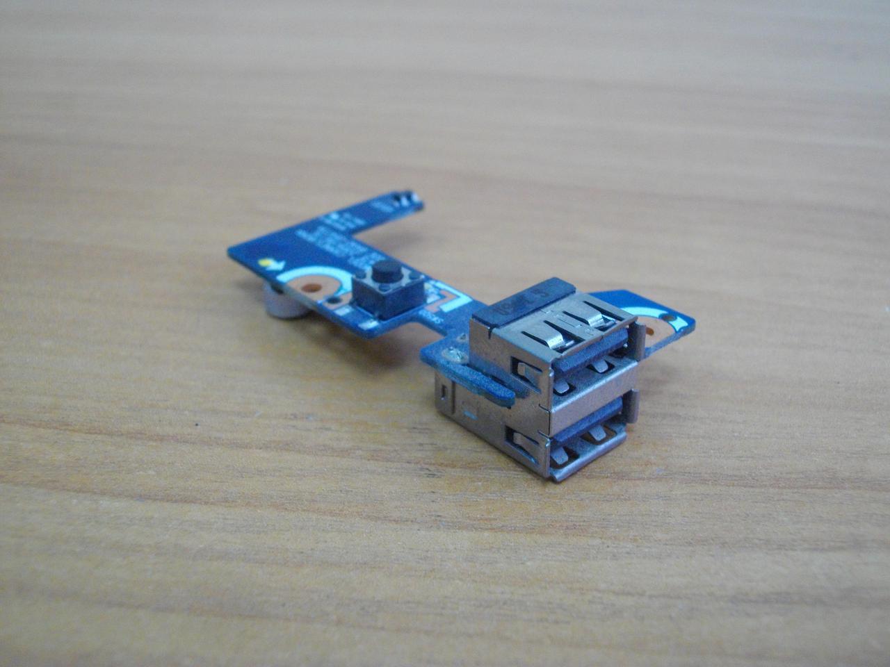 Плата з портами USB Samsung R522, R518, R720.