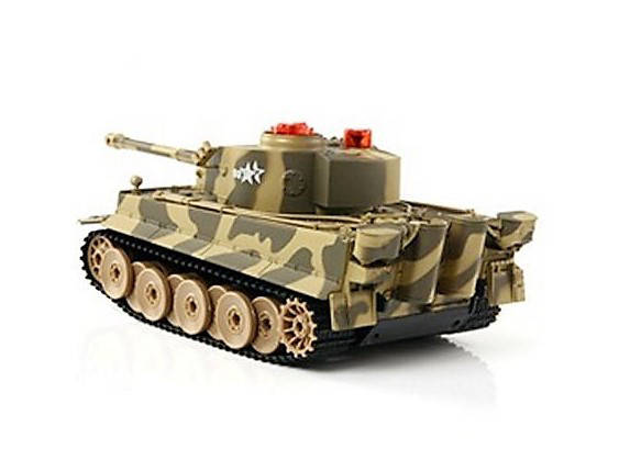"""Боевой танк """"Tiger"""" 518-02 на радиоуправлении + Звуковые и световые эффекты Танки на р/у Интерактивные игрушки, фото 2"""