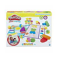 Игровой набор для лепки Hasbro Текстуры и инструменты Play-Doh