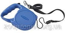 Ferplast FLIPPY Regular MEDIUM BLUE Автоматичний поводок-рулетка для собак