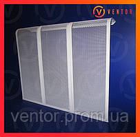 Декоративная  решетка/экран на чугунную батарею 8 секции, 765 мм