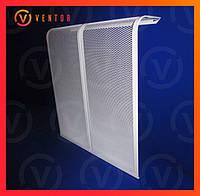 Декоративная  решетка/экран на чугунную батарею 6 секции, 575 мм