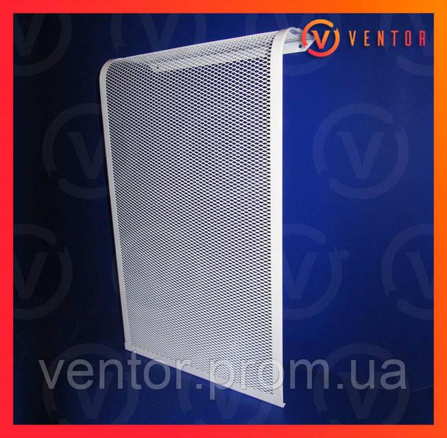 Декоративная  решетка/экран на чугунную батарею 4 секции, 385 мм