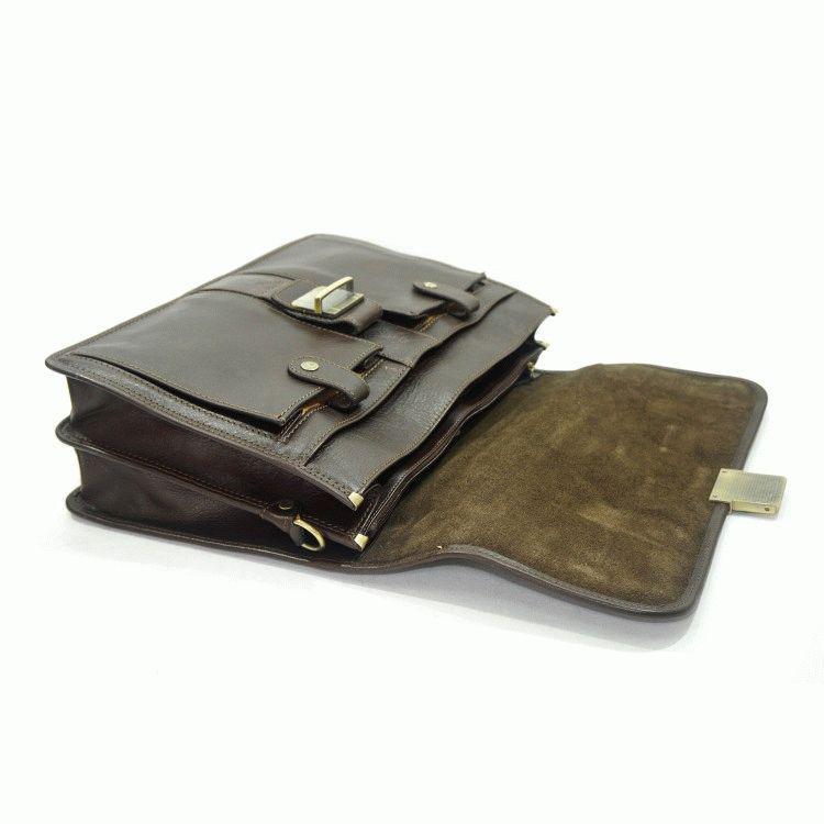 1c9f23fc97c0 Портфель Katana K31004-2 кожаный Коричневый: продажа, цена в ...