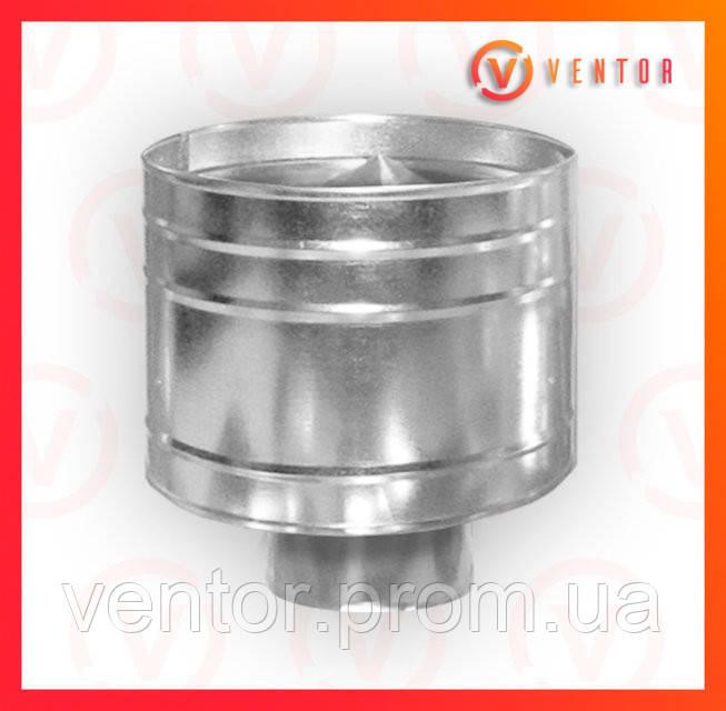 Дефлектор (волпер)  из оцинкованной стали , диаметр 130 мм