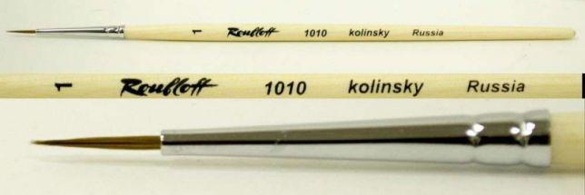 Кисточка  для росписи ногтей натуральная колонок , Roubloff, 1