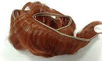 Волосы короткие для кукол 3,5см/≈80-90см 23 красно-рыжие 570420