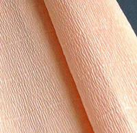 Папір гофрований персикова 17А5 Італія