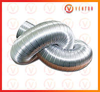 Воздуховод гофрированный алюминиевый ф 115, L=3.0 м, 100 мкм