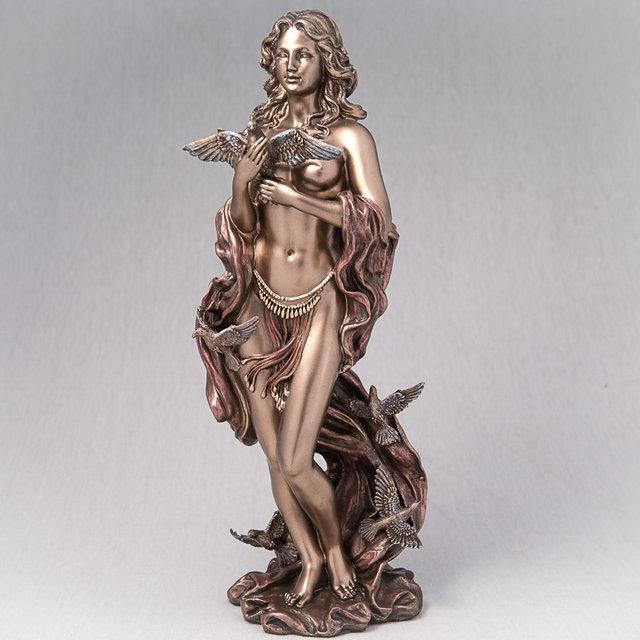 Статуэтка Афродита с птицами (31 см) 73427A4 Veronese Италия