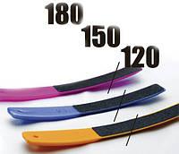 3-14 (120/150/180) (ПЛ-01) Набір пилок для нігтів Сталекс (пластикові, 3 шт.) 120/150/180