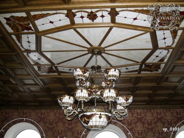 Витражный потолок армстронг