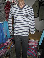 Пижама мужская K.S.M. хлопок с начесом