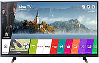 Телевизор LG 43UJ6307 4K, Ultra HD, 1500Gz, Smart, WiFi, T2, S2