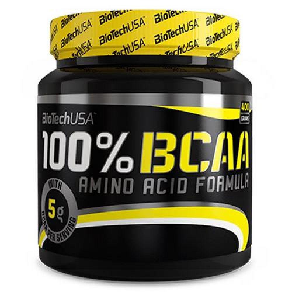 Аминокислота BioTech USA 100% BCAA 400g