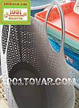Пластиковая сумка-авоська для пикника, кофейная, фото 6
