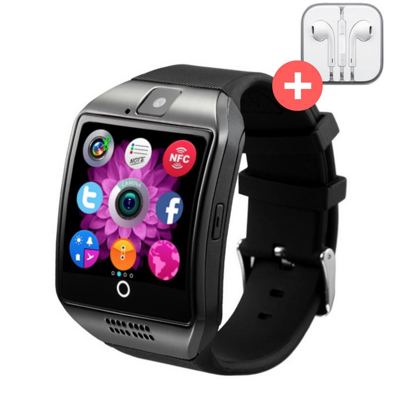 Смарт часы Smart Watch Q18. Черные. Black