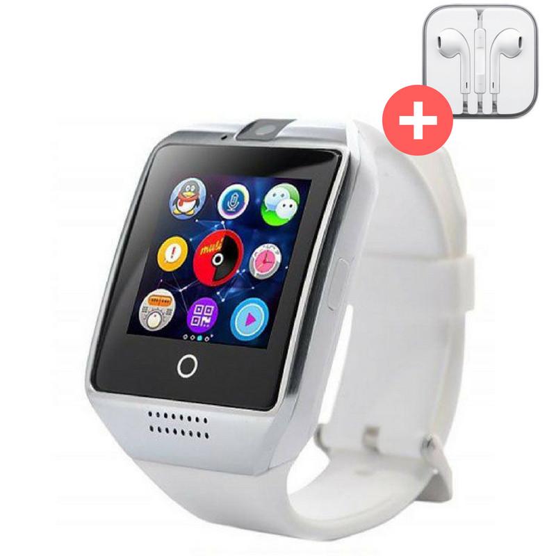Смарт часы Smart Watch Q18. Серебро. Silver