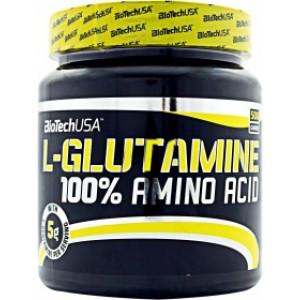 Глутамин BioTech USA 100% L-Glutamine 500g